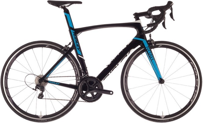 Ridley Noah - Ultegra Mix - 2017 Road Bike Black/Blue/White