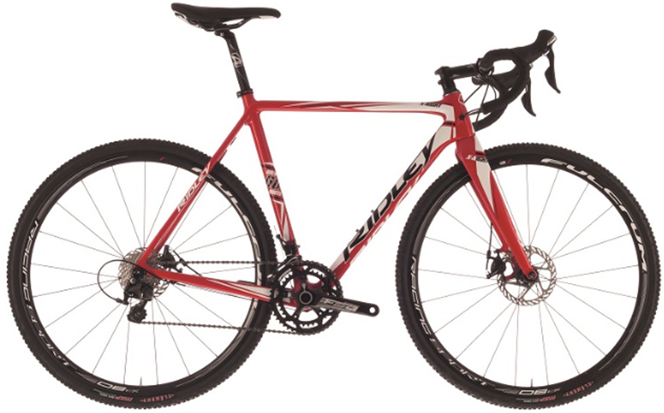 Ridley X-Night 105 Mix Mechanical Disc Red/White/Black