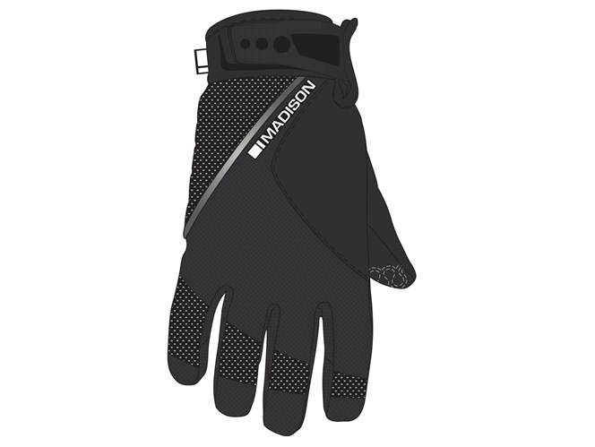 Madison Avalanche Mens Gloves Black/Grey