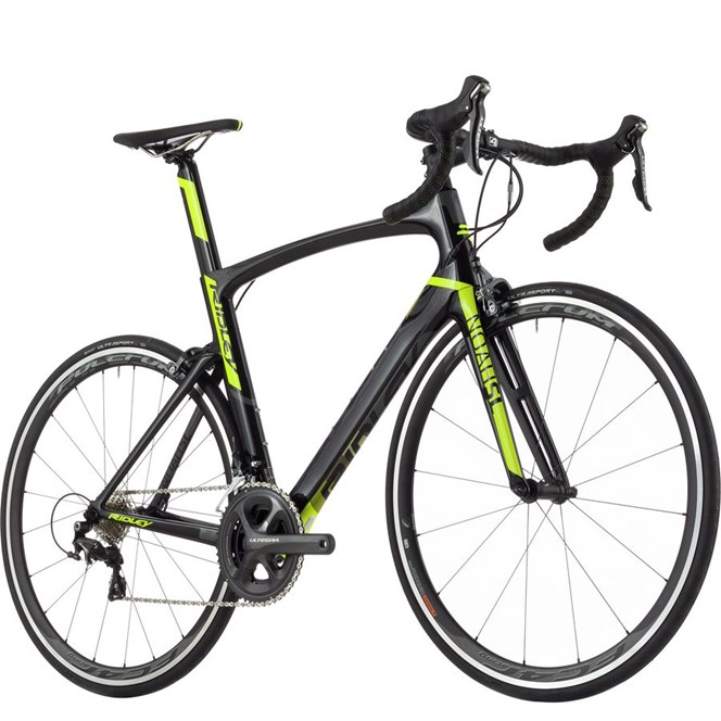Ridley Noah SL - Ultegra - Black-Neon Yellow-Grey Medium