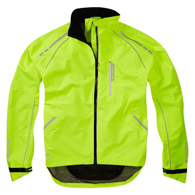 Madison Prime Hi-Viz Yellow Jacket