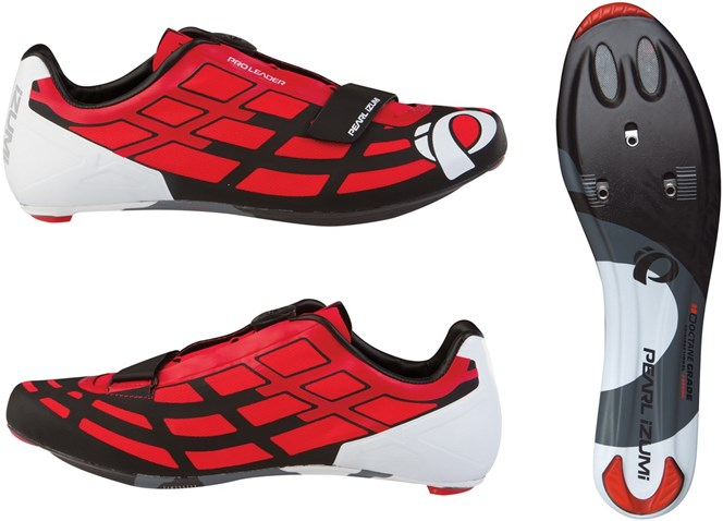 Pearl Izumi Unisex, P.R.O. Leader II Road Shoes, Red / Black