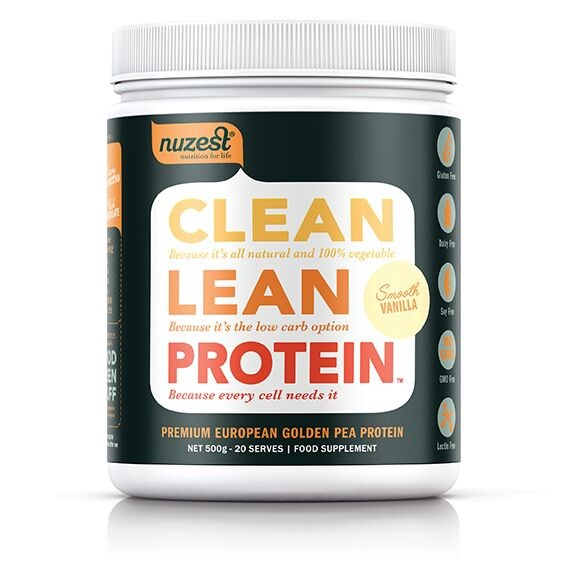 NuZest Clean Lean Protein 500g Smooth Vanilla