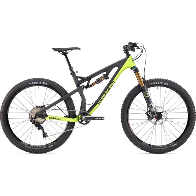 Saracen Kili Flyer Elite 27.5 inch Mountain Bike 2017 Full Suspension