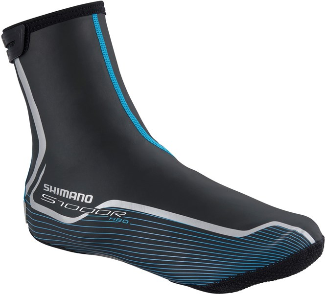 Shimano S1000R H2O Overshoe, Black 40-42 Medium