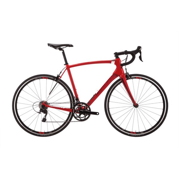 Ridley Fenix C 2018 Bike - Tiagra - Red/Red Metallic/White
