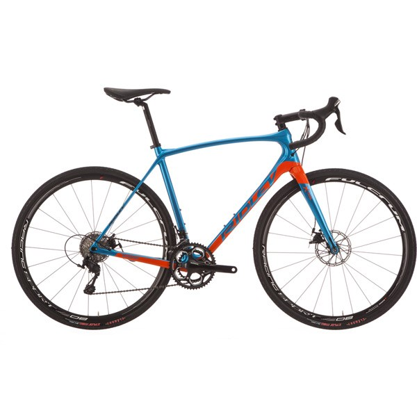 Ridley X-Trail C Rival 1 Disc 2018 Bike Bluegreen/Orange