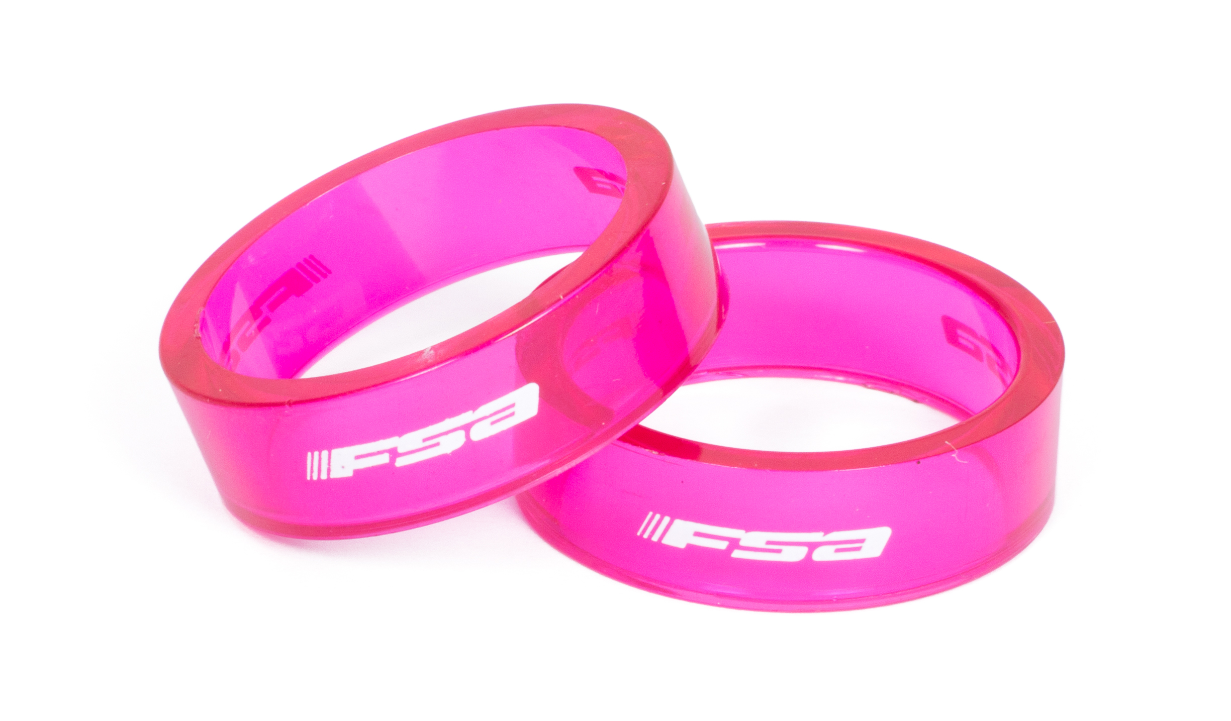 Fsa Polycarbonate Headset Spacers Pack Of 10 Blue 10Mm Bike